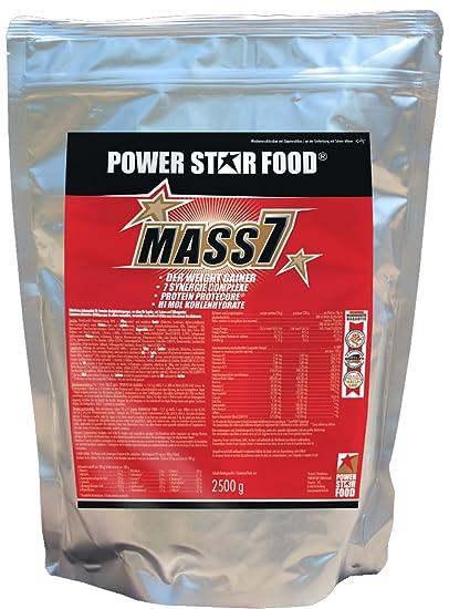 Powerstarfood Mass 7, Vanile, 1er Pack (1 x 2.5 kg)