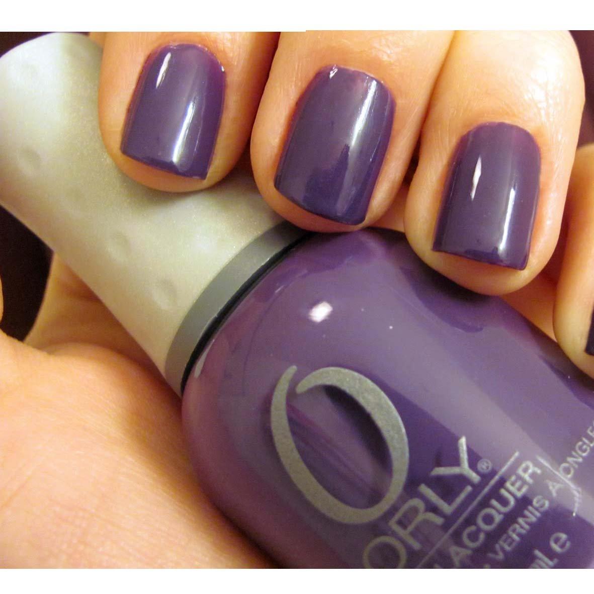 electric purple nail polish - photo #28