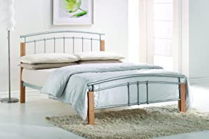 Tetras Metal & Wooden Bed (Single Bed)       reviews and more news