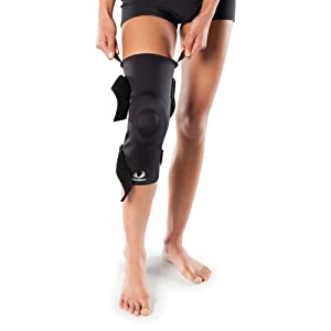 Visco Knee Brace for Arthritis, Patella Tendinitis, Osteoarthritis - Compression Knee Sleeve with Light Joint Support, and Patella Gel Ring - by BioSkin (Color: Black, Tamaño: XL)