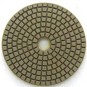 Diamond Wet Polishing Pads Sanding Grinding Discs Tools 10 Pcs Set for Granite Marble Stone 5 Grit 800 (Color: 10 Pcs: Grit 800#, Tamaño: 5 Inch)