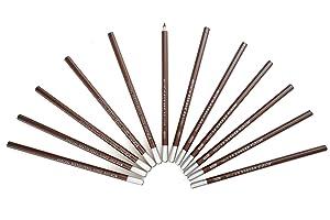 Marie&s lápices de dibujo de carbón, graduación 14B, no reflejante, 12 unidades, C7104 (14B)   más información y revisión