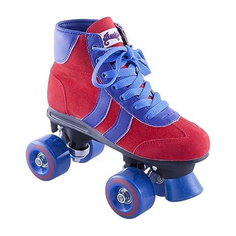 Roller Quad Rookie Retro Red