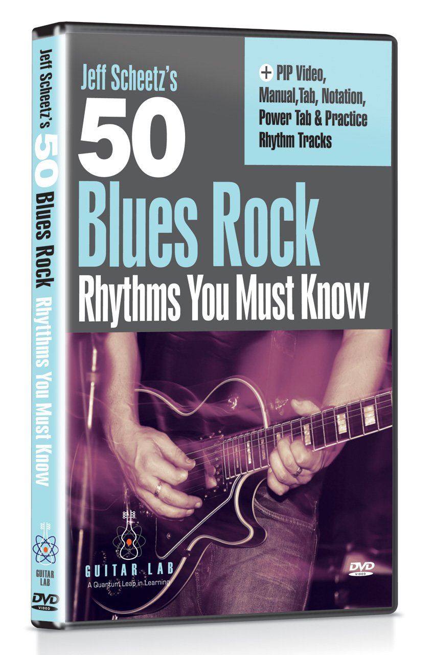 McErlain, Jeff - 50 Blues Rock Licks You Must Know