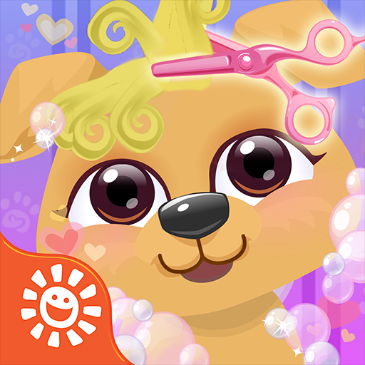 Sunnyville Baby Pet Animal Salon Game - Play Fun Free Pets Hair Cut, Color & Style Games