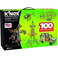KNEX 100 Model 863-Pieces Building Set (Ages 7+ Engineering Educational Toy)