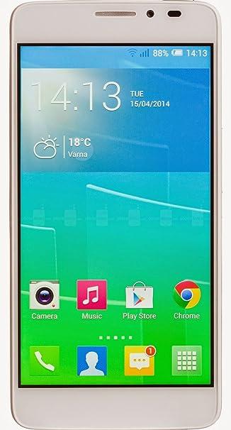 Alcatel Idol X+ Smartphone débloqué (Ecran: 5 pouces - 16 Go) Blanc (import Italie)