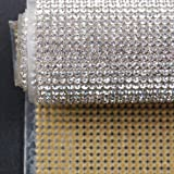 Hisenlee Boutique Rhinestone Decorative Stickers (24X40CM Hot Melt Crystal Crystal Rhinestone DIY Clothes, Shoes, Car, Mobile Phone Case) (Crystal Clear) (Color: Crystal Clear)