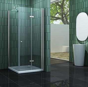 cabine de douche space one space one 80 x 80 x 195 cm cm sans bac bricolage m180. Black Bedroom Furniture Sets. Home Design Ideas