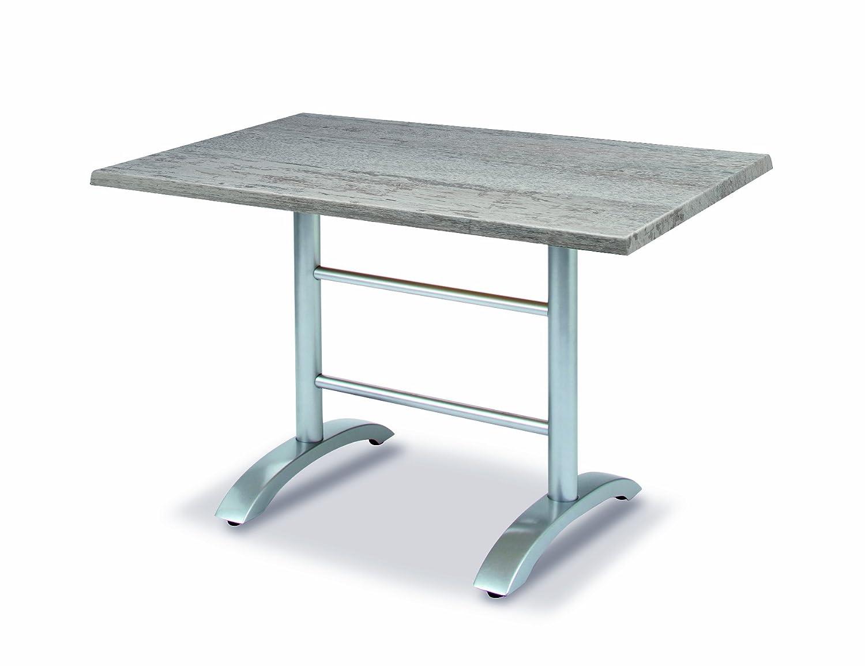 BEST 43541289 Tisch Maestro rechteckig 120 x 80 cm, silber / Montpellier bestellen
