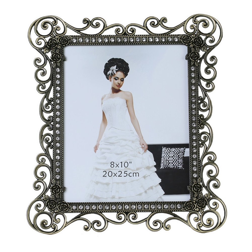 Gift Garden 8 by10-inch Vintage Picture Frame for 8x10 Photo 0