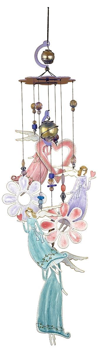 """Sunset Vista Designs Angel Garden Chime, 24"""""""