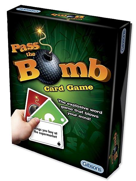 Gibsons passer la Bombe Jeu de cartes