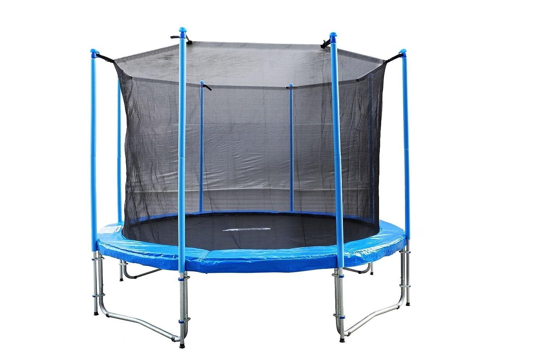 FA Sports Gartentrampolin mit Sicherheitsnetz Flyjump Monster, blau, 305 cm, 1220 günstig kaufen
