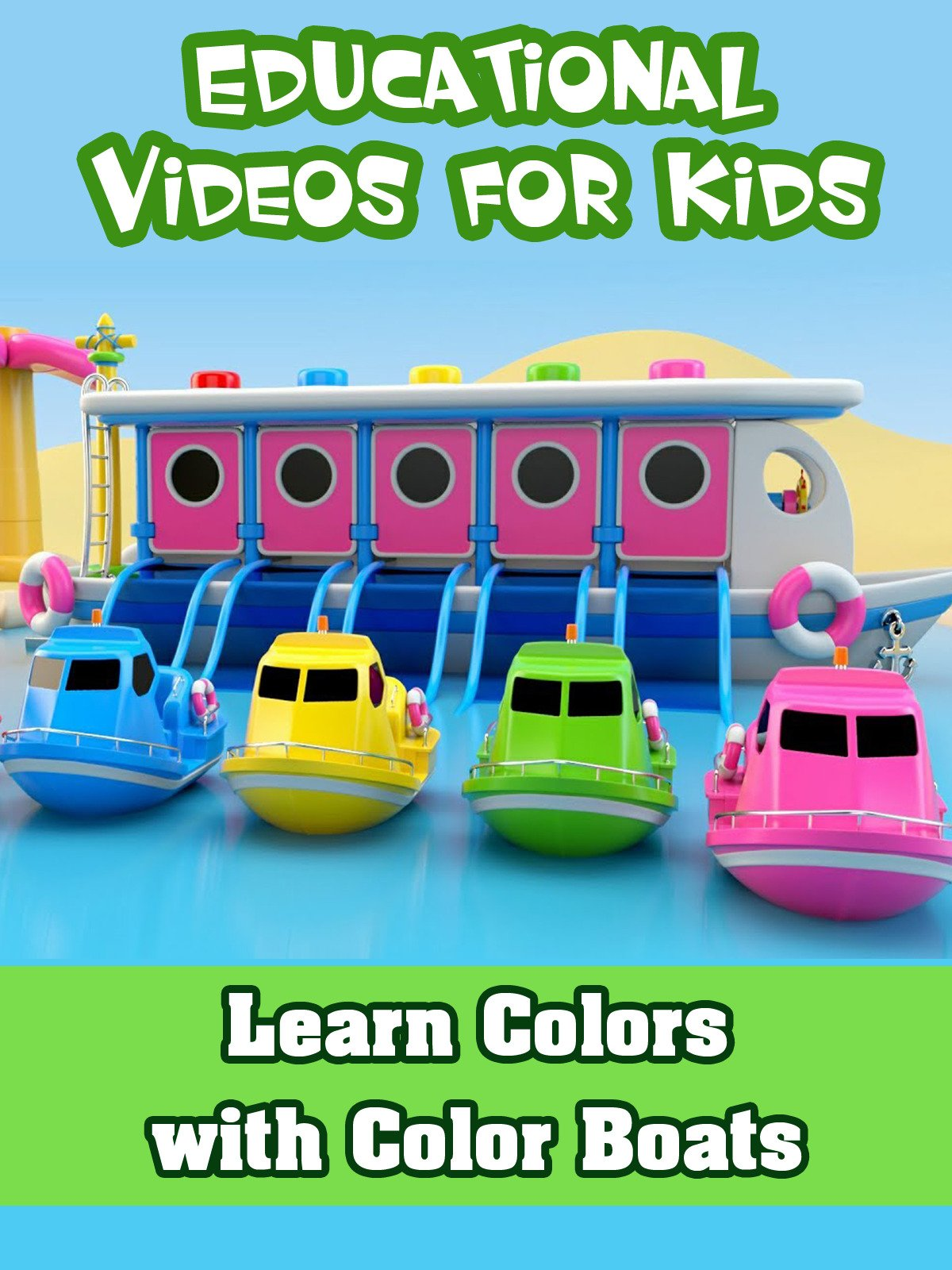 Learn Colors with Color Boats
