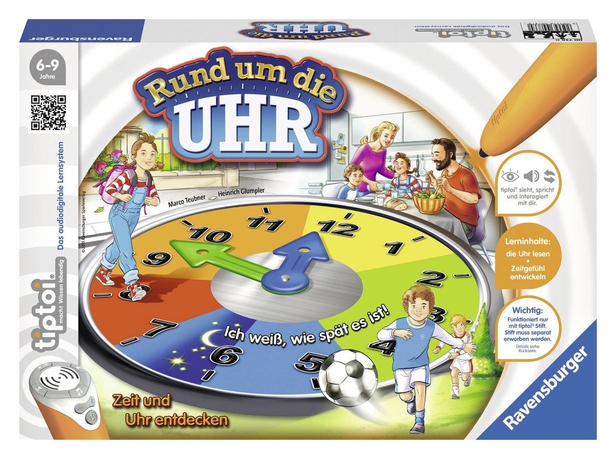 Ravensburger 00736 – tiptoi – Rund um die Uhr, Lernspiel online kaufen