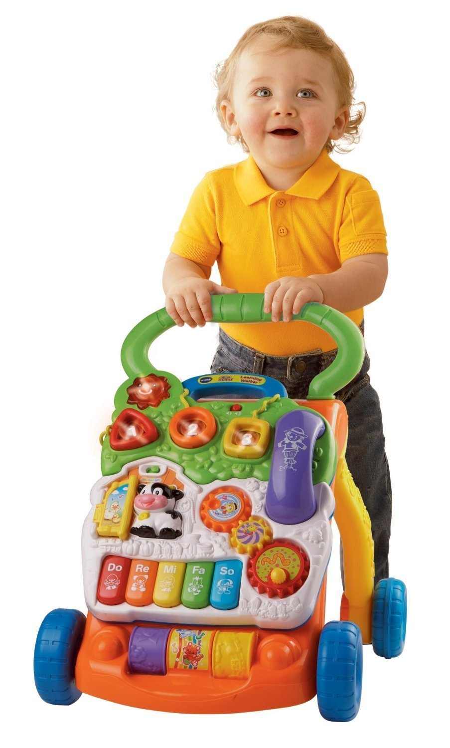 New Baby Toys : Vtech sit to stand teaching car toys baby toddler