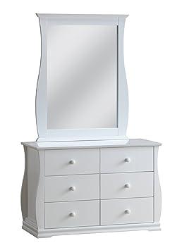 ACME 30106 Nebo Dresser, White