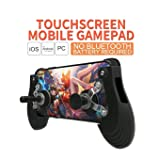 Mobile Joystick Controller Mini size Pro Touch screen,Grip Case for SmartPhones for IOS Android mobile with Ergonomic Design (Color: black)