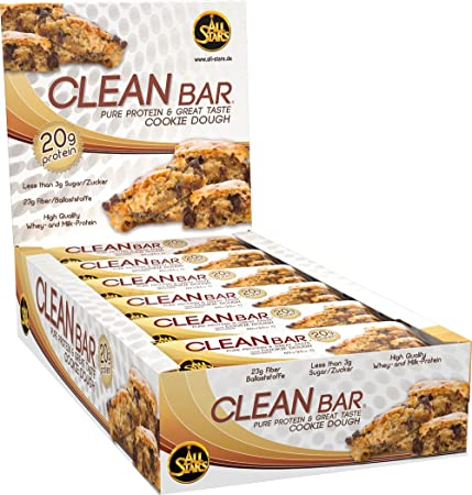 All Stars Clean Bar, Cookie Dough, 18er Pack (18 x 60 g)
