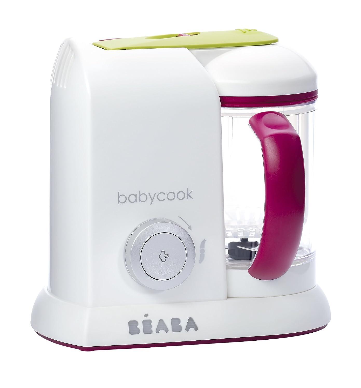 Mixeurs et cuiseurs vapeur b�b� BEABA BABYCOOK SOLO GIPSY VIOLET