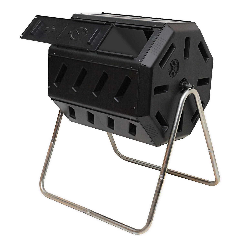 new turning barrel compost bin outdoor garden waste. Black Bedroom Furniture Sets. Home Design Ideas