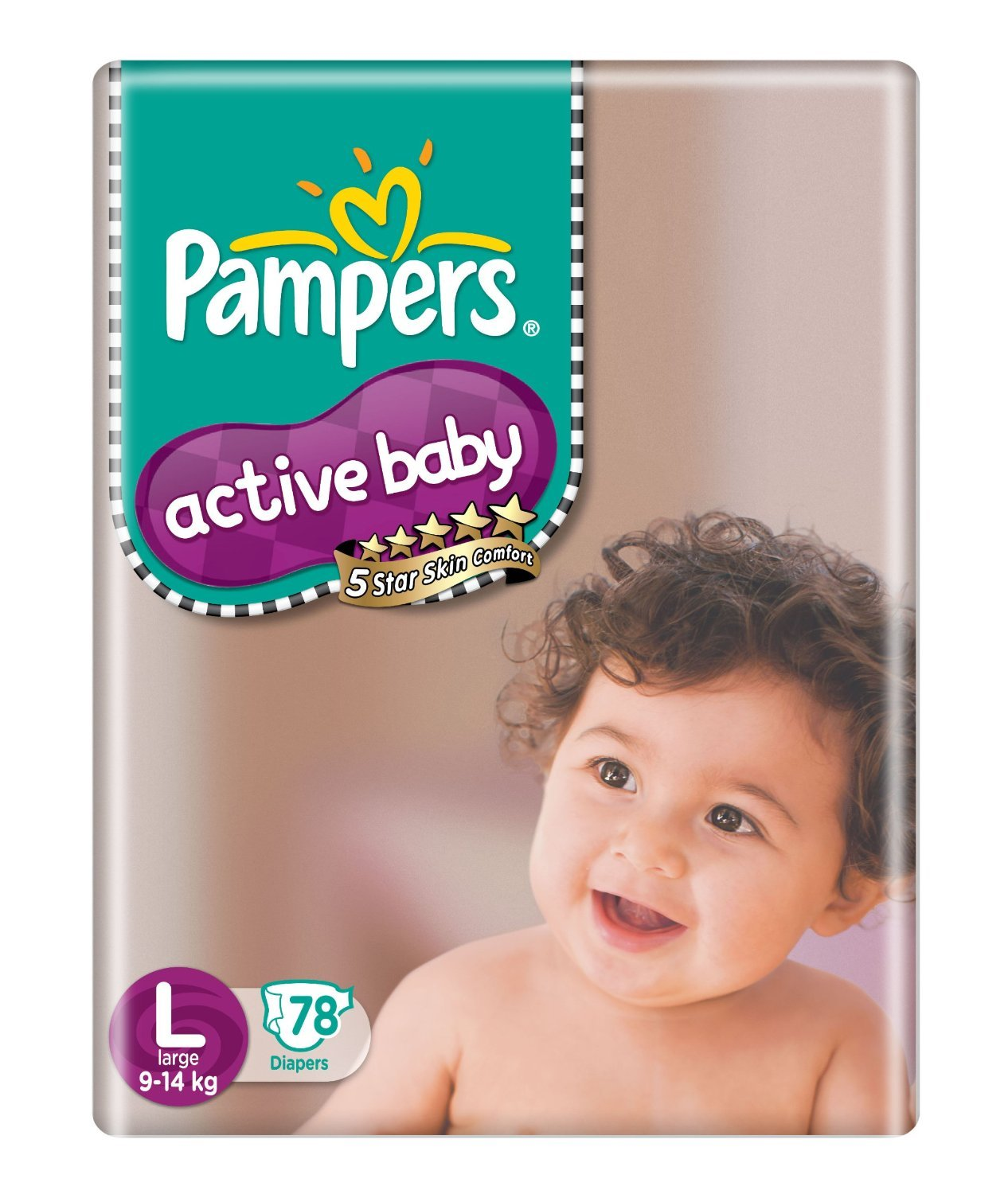 Active Baby Large Size Diapers