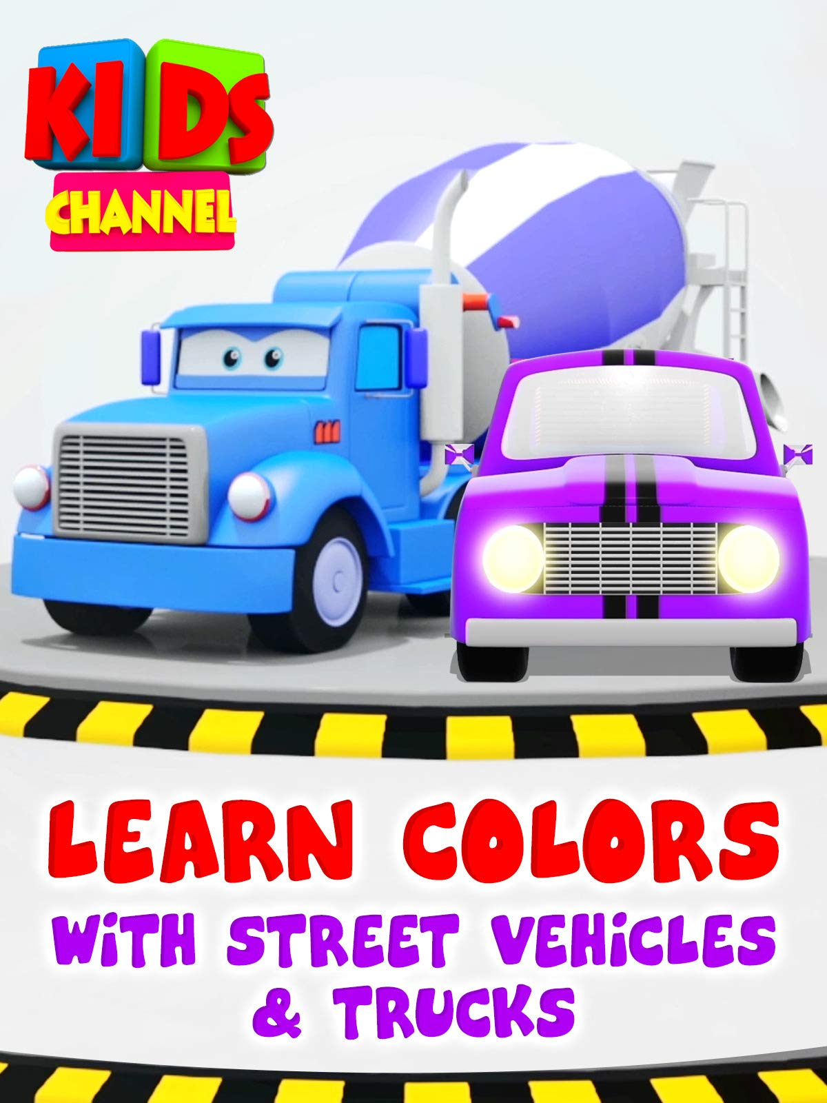 Learn Colors with Street Vehicles & Trucks