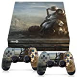 Controller Gear Officially Licensed Console Skin Bundle for PS4 Pro - Fallout - Power Armor Helmet