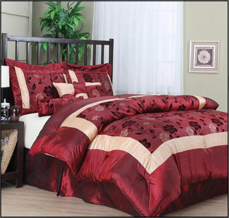 Nanshing Angela 7-Piece Jacquard Comforter Set