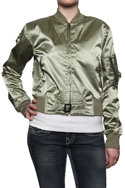 Belstaff Black Label Damen Jacke Blouson-Jacke SOLDIER, Farbe: Olivgruen bestellen