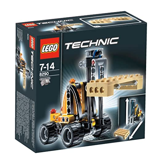 LEGO - 8290 - Technic - Jeux de construction - Le mini monte- charges