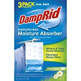 DampRid Hanging Bag 16-Ounce, 3-Pack, Fresh Scent (Color: Fresh Scent, Tamaño: 3 Count)