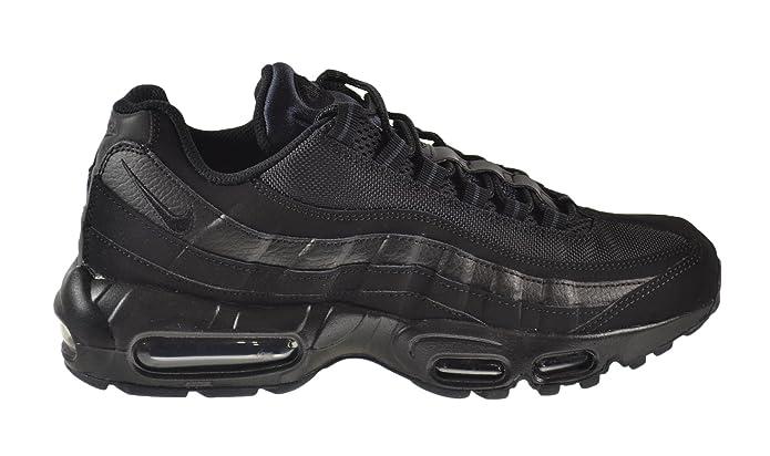 ... Nike Air Max 91 Mens Running Shoe All Balck ...