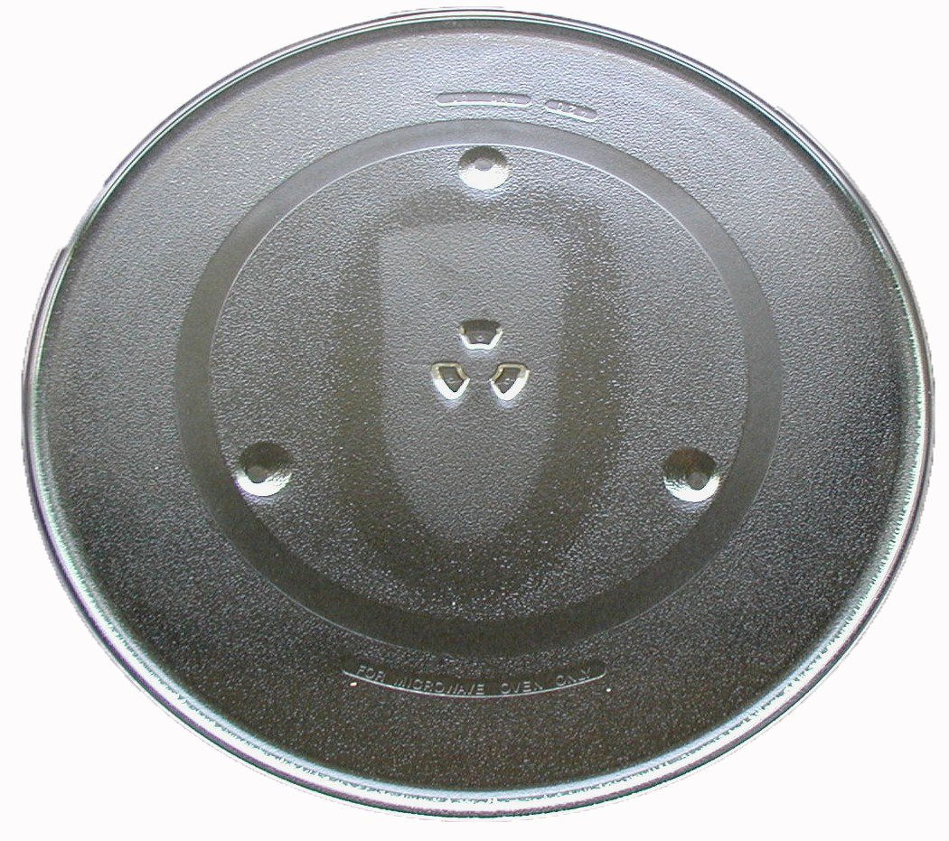 "GE Microwave Glass Turntable Plate / Tray 16 1/2"" # WB48X10046"