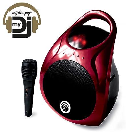 Enceinte MYDJ Autonome Karaoké 60W MP3 USB/SD