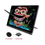 Huion KAMVAS GT-191 V2 HD Drawing Monitor Inch 19.5 Pen Display Battery-Free Stylus with 8192 Levels Pen Pressure