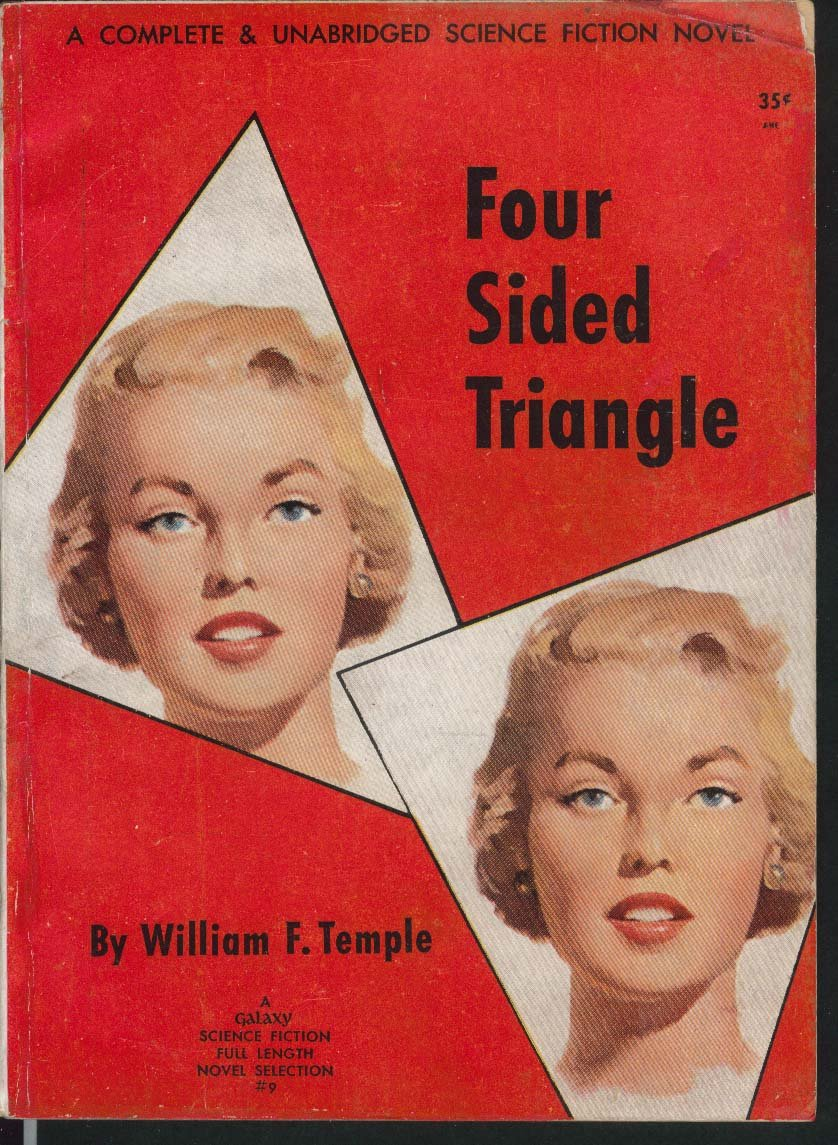Four Sided Triangle by William F. Temple