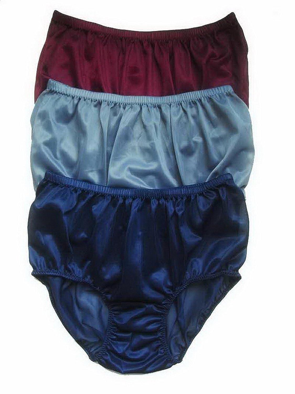 Höschen Unterwäsche Großhandel Los 3 pcs LPK7 Wholesale Panties Nylon günstig