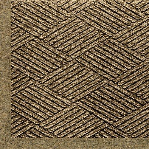 Andersen 2297 Waterhog Eco Elite Pet Polyester Entrance Indoor/Outdoor Floor Mat, 6' Length X 4' Width, Khaki front-337295