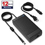 185W Dell Alienware Charger, Applicable for 180W Laptop Power Adapter, Compatible Alienware 17 R3/15 R3/15 R2/X51 R2/13/14/M17X/M15X/M14X/X51,Dell Precision M4600/M4700/M4800/M6400/M6500/M6600/M6700 (Color: DELL)