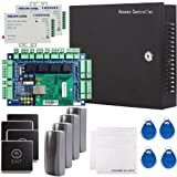 UHPPOTE Security Network RFID Access Control Board Kit Metal AC110V Power Box For 4 Doors