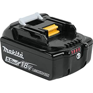Makita BL1850B-2 18V LXT Lithium-Ion 5.0Ah Battery Twin Pack (Color: Black, Tamaño: 5.0Ah)