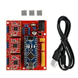 SainSmart CNC Shield V4 + Nano V3.0 + 3 xA4988 Reprap Stepper Drivers Kit for Arduino 3D Printing