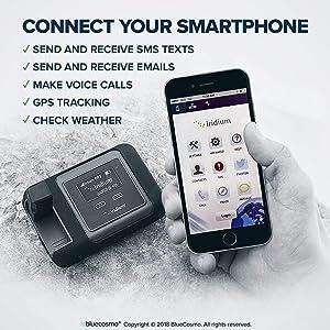 BlueCosmo Iridium GO! Satellite Phone Wi-Fi Hotspot for