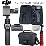 DJI Osmo Mobile 2 Handheld Smartphone Gimbal Stabilizer Videographers Bundle