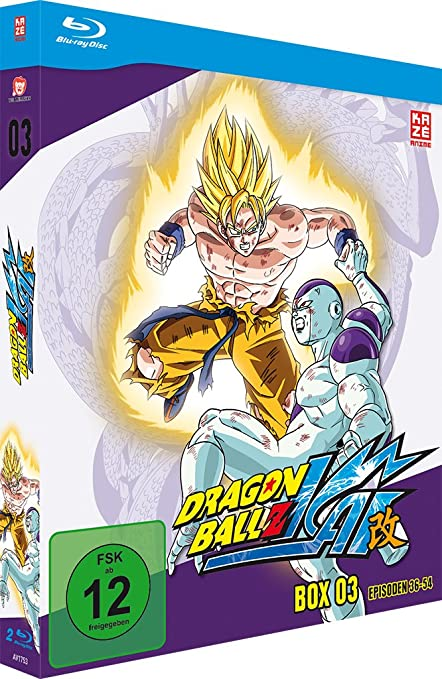 Dragonball Z Kai - Box 3