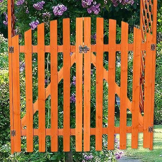 Rosenbogen mit tor holz selber bauen for Puertas de madera para jardin