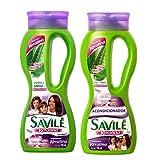 Savile Biotina Pulpa de Sabila y Keratina Shampoo/Acondicionador (Shampoo and Conditioner)