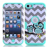 iPod Touch 6 Case , iPod Touch 5 Case, Alkax [Slim Fit][Heavy Duty] Rugged Impact Resistant Protective Cover Bumper for Apple iPod Touch 5 6th Generation + Stylus Pen